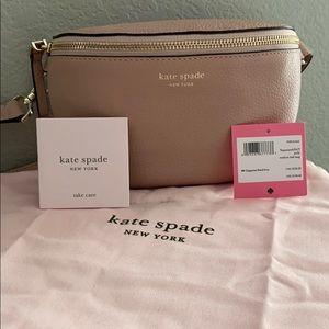 Kate Spade leather belt/bum bag in flapperpink